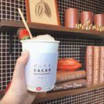 2つのカカオを飲み比べ♡どっちもCACAO by キットカット ショコラトリー