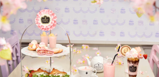 「Q-pot CAFE.」が桜色に染まる…♡2020春限定メニューが登場