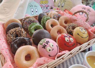バーバパパが果物に変身!?2/26(水)発売のKKD新作ドーナツ